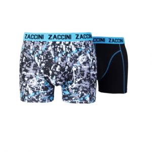 Zaccini Blauw/Print