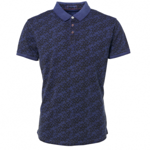 No Excess polo indigo blue