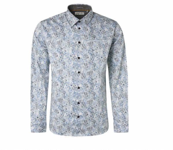 All over print overhemd