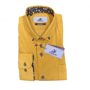 Product afbeelding overhemd geel