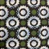 Close up afbeelding groen stip